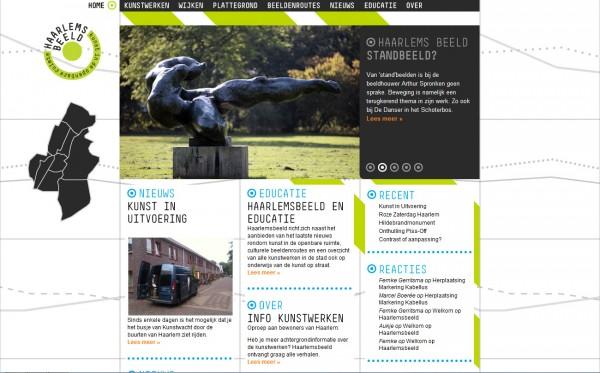 Website Haarlems Beeld